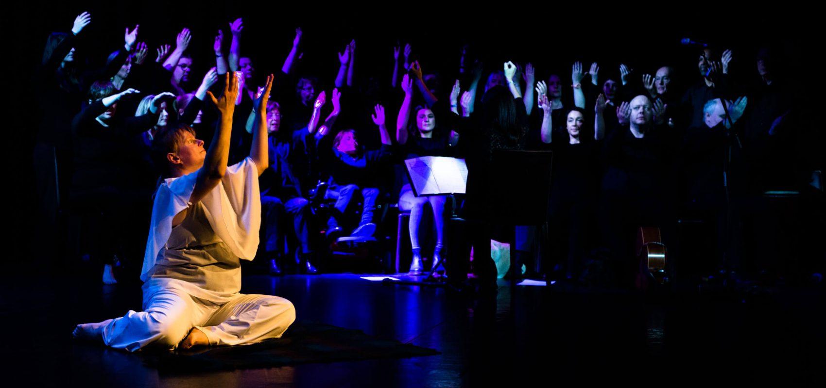 Luminous Soul with The Open Arts Community Choir, Crescent Arts Centre, Bounce 2017